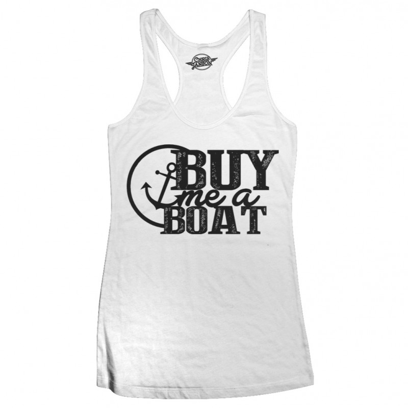 Buy Me A Boat Tank Top