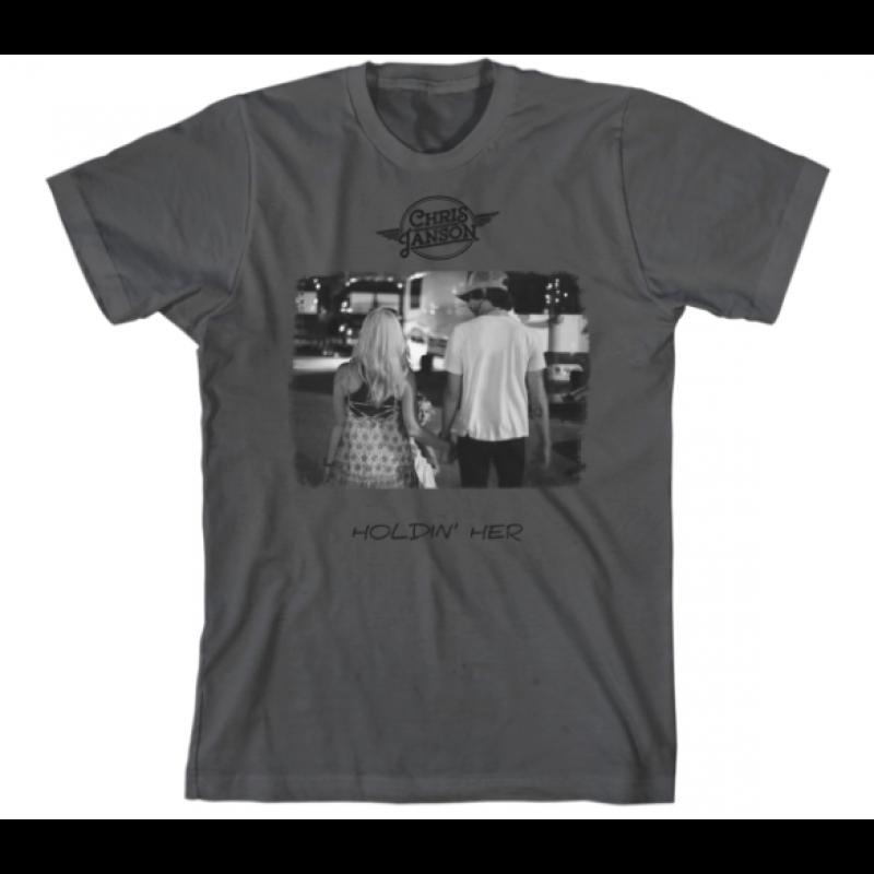 Holdin' Her T-Shirt