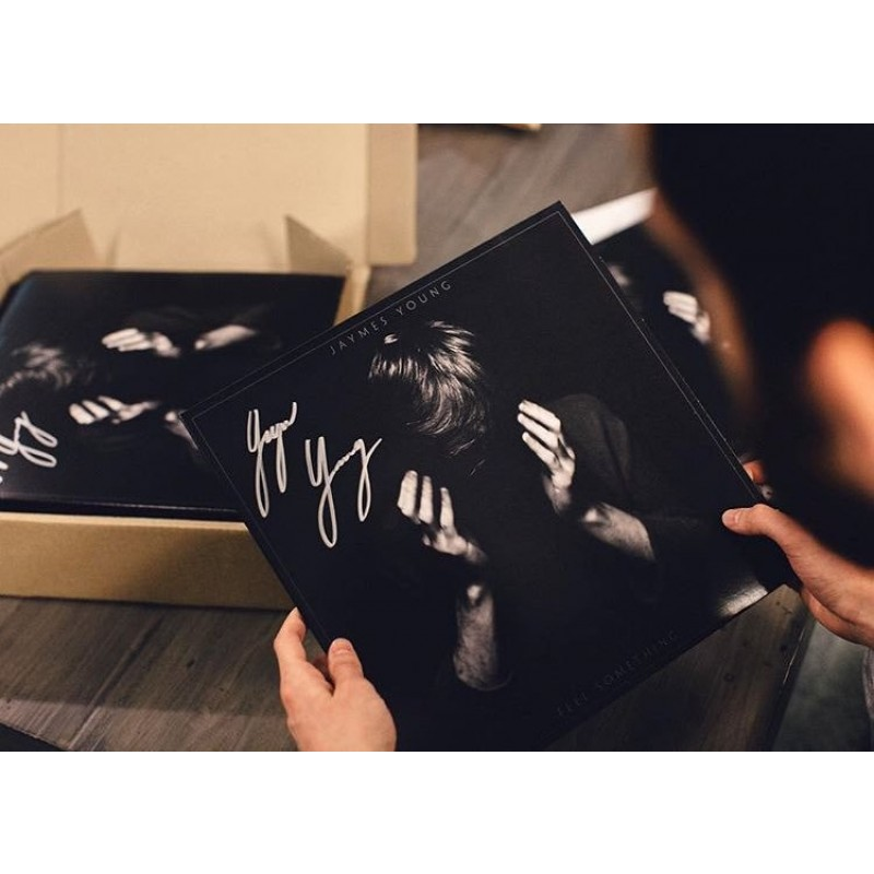 Autographed Feel Something Vinyl