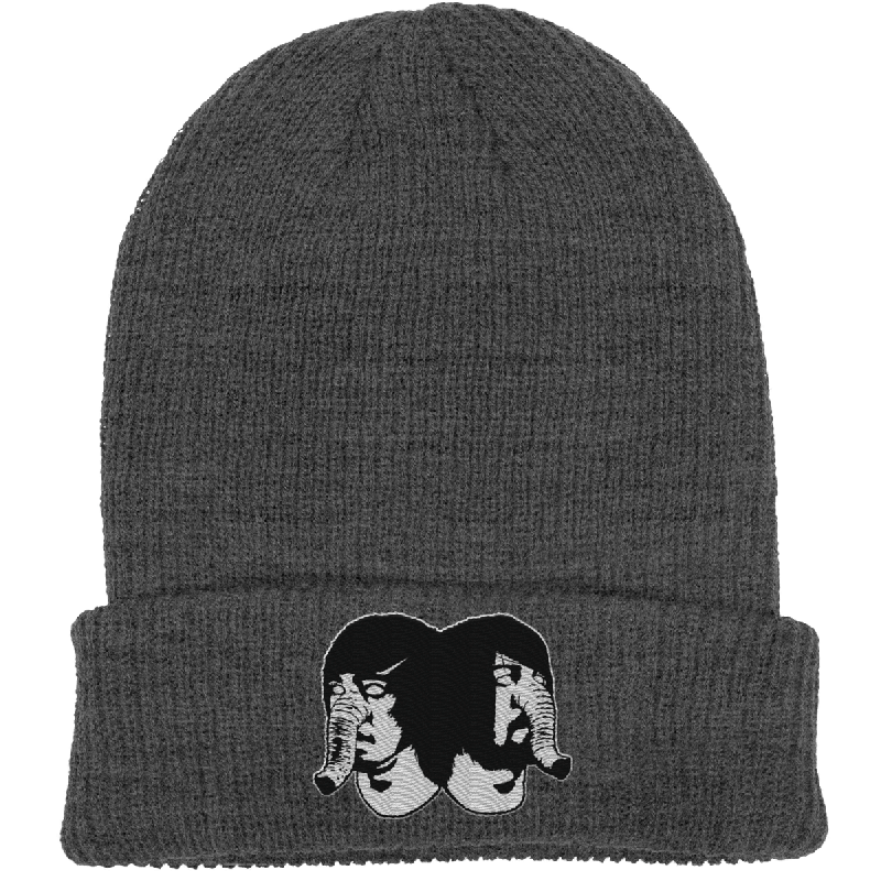 Elephants Head Charcoal Beanie