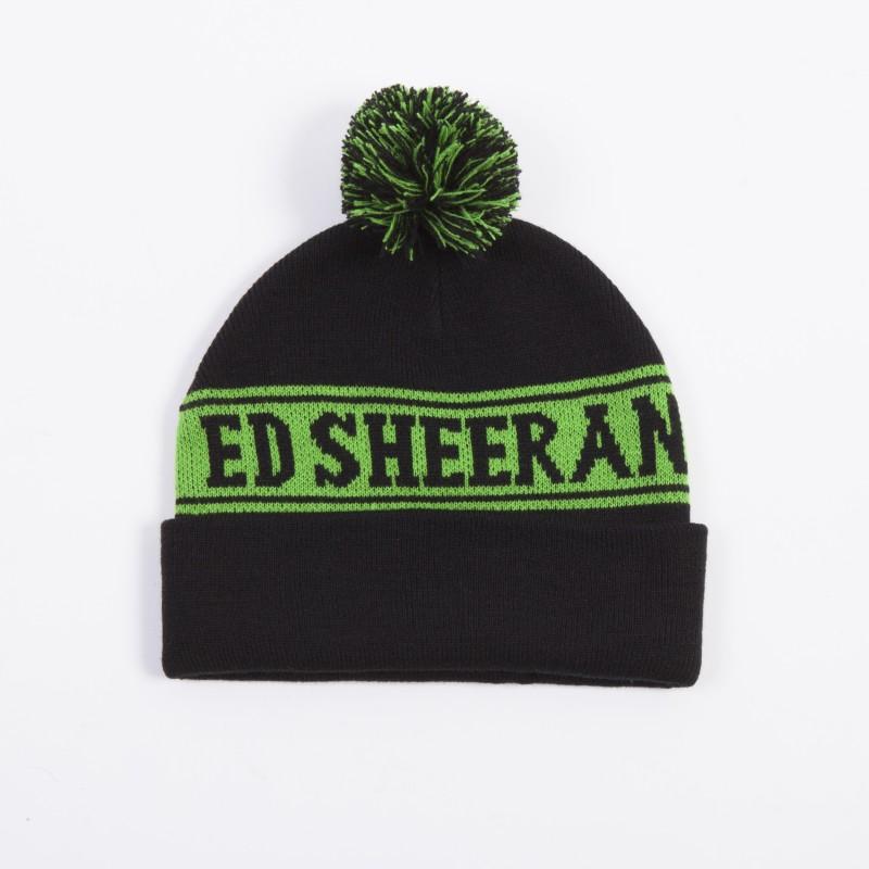 ED Green Pom Beanie