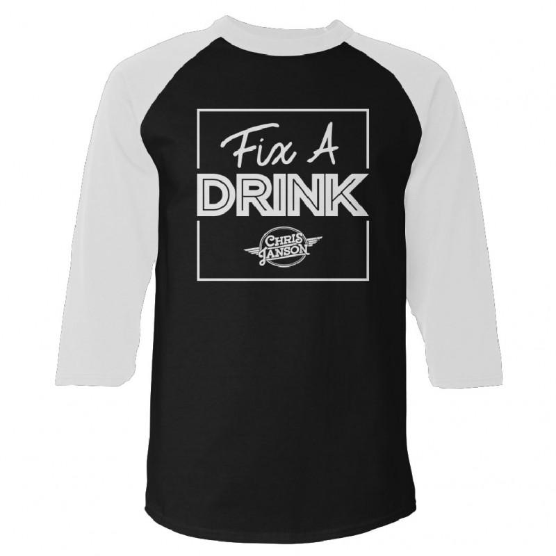 Fix A Drink Raglan