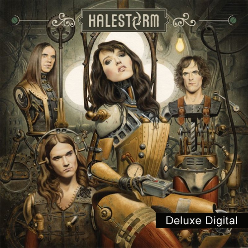 Halestorm Deluxe Digital MP3 Album