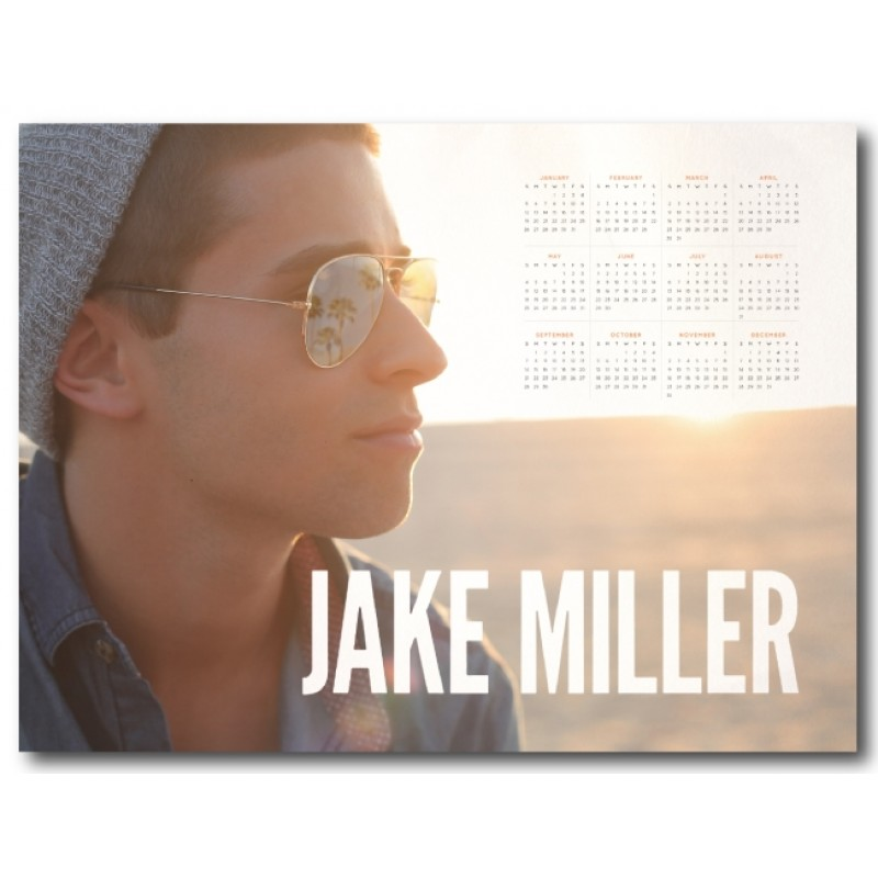 Jake Miller 2014 Poster Calendar