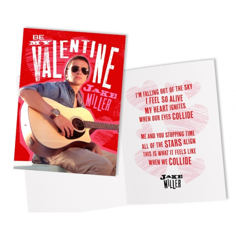 Be My Valentine Card