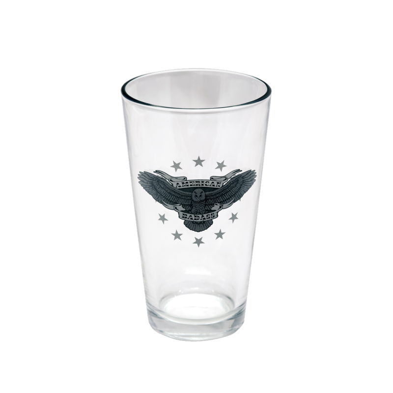 Vintage Americana Pint Glass