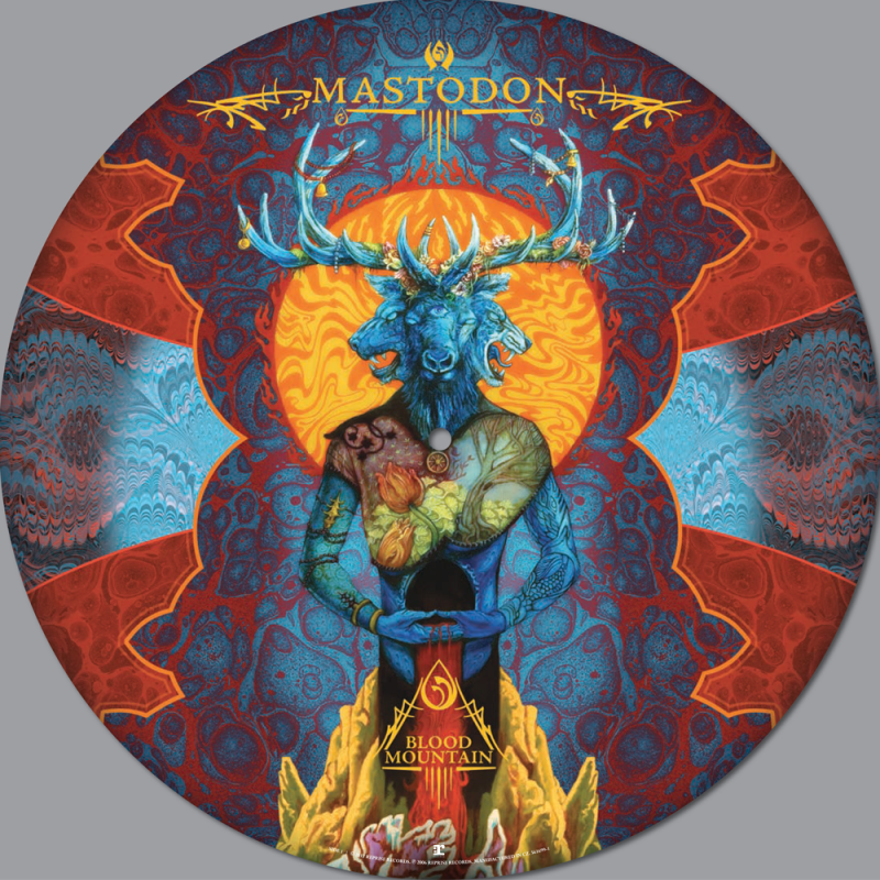 Blood Mountain Picture Disc