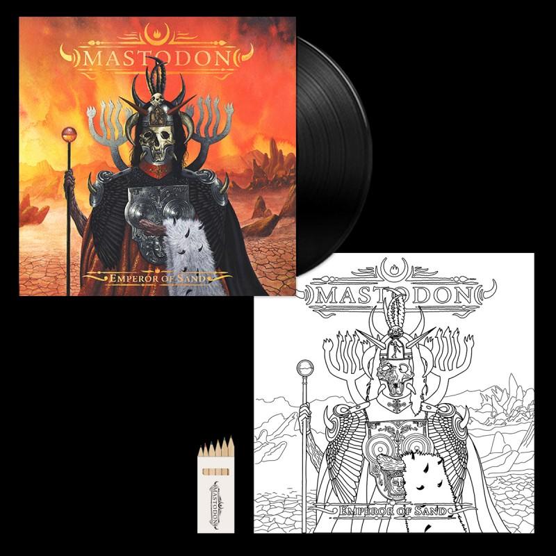 Emperor of Sand Bonus Color-In Vinyl Jacket