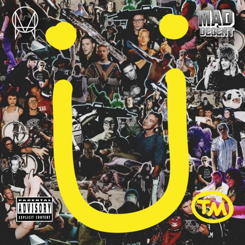 Skrillex and Diplo present Jack Ü (CD)