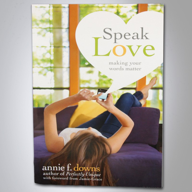 Speak Love Book Girls of Grace