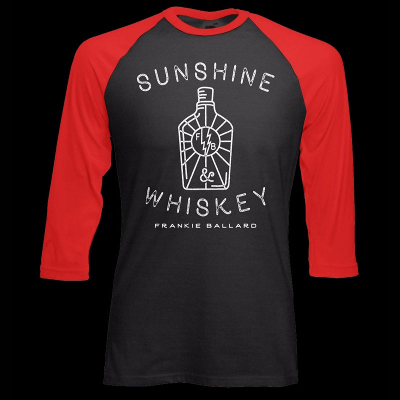 Sunshine & Whiskey Baseball Tee