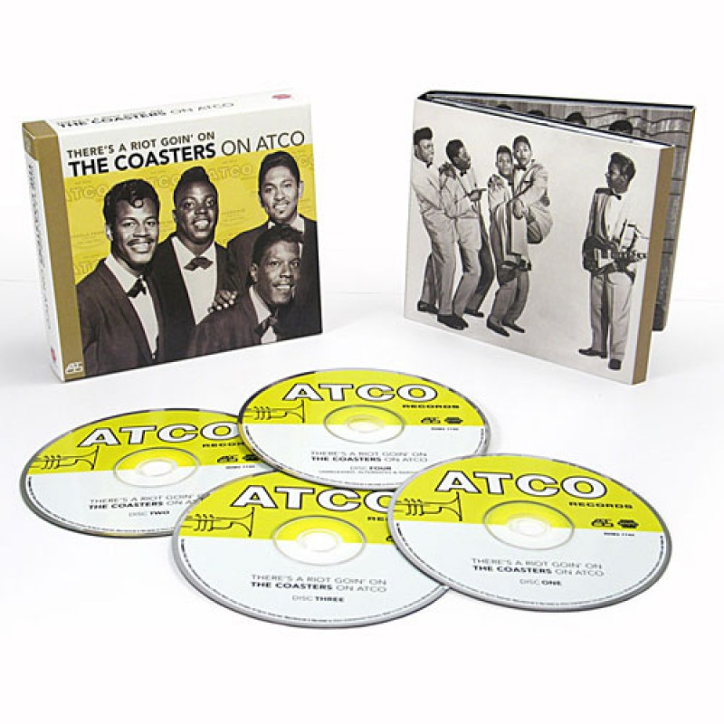 There's A Riot Goin' On: The Coasters On Atco CD