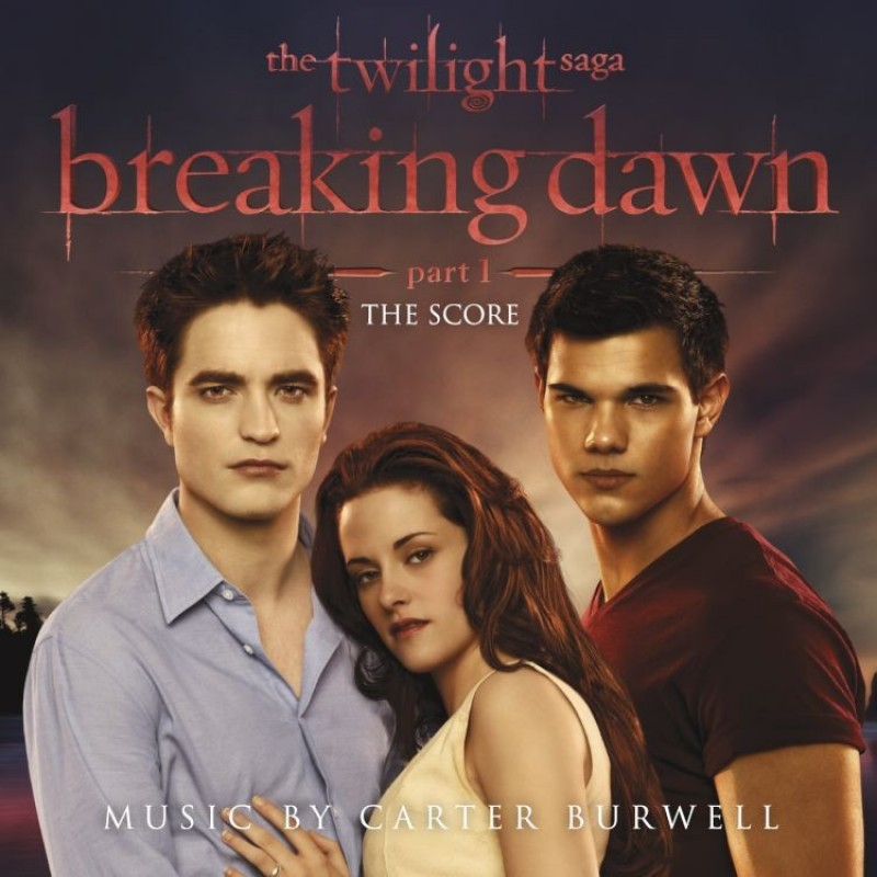The Twilight Saga: Breaking Dawn, Part 1 The Score (Music by Carter Burwell) CD
