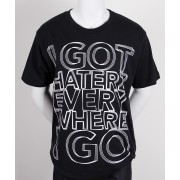 Haterz Shock Basic Black T-Shirt