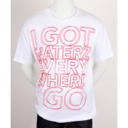 Haterz Shock Basic White T-shirt