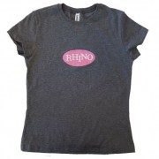 Women's Rhino Logo T-Shirt Grey