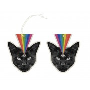 Black Cat Hanging Air Freshener