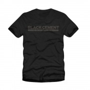 Black Cement Logo Tee