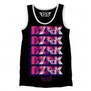 BZRK Black Tank Top (Black)