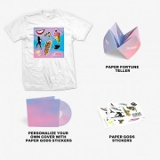 Paper Gods Deluxe Fan Edition CD + T-Shirt