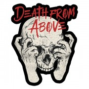 Skull and Hands Sticker