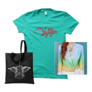 The Voyager  Album + T-shirt + Tote Bundle