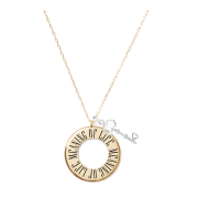Meaning of Life Circle Necklace