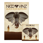 Black Star Elephant CD + Poster Bundle