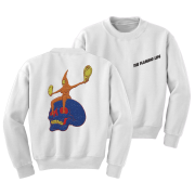 Skull Rider Embroidered Crewneck