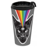 Black Cat Hot Beverage Tumbler