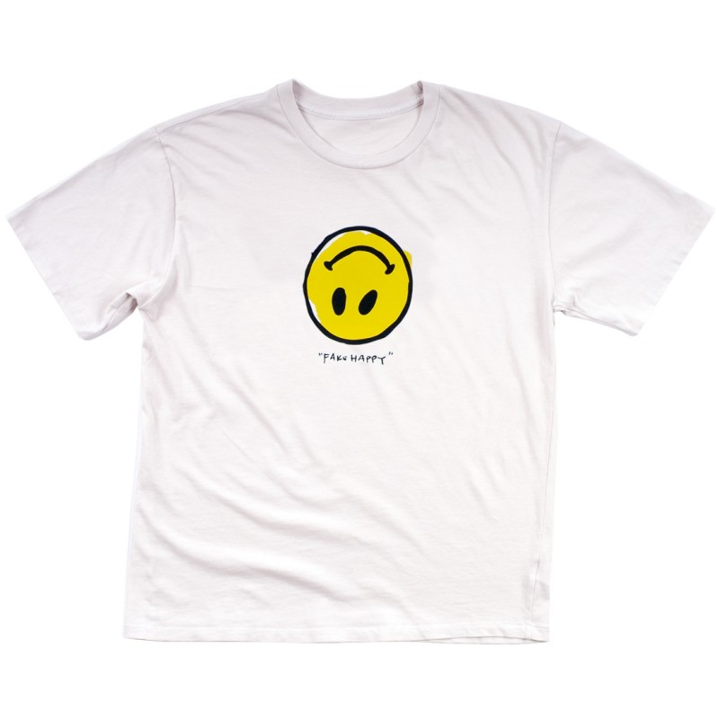 Fake Happy T-Shirt (White)