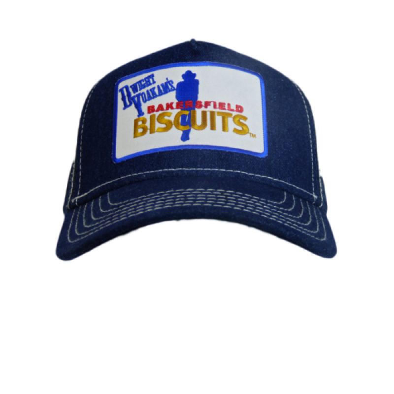 Bakersfield Buscuits Denim Trucker Hat