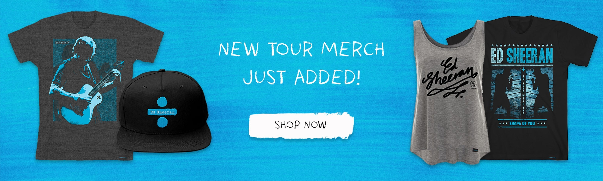 Ed Sheeran - Official Store