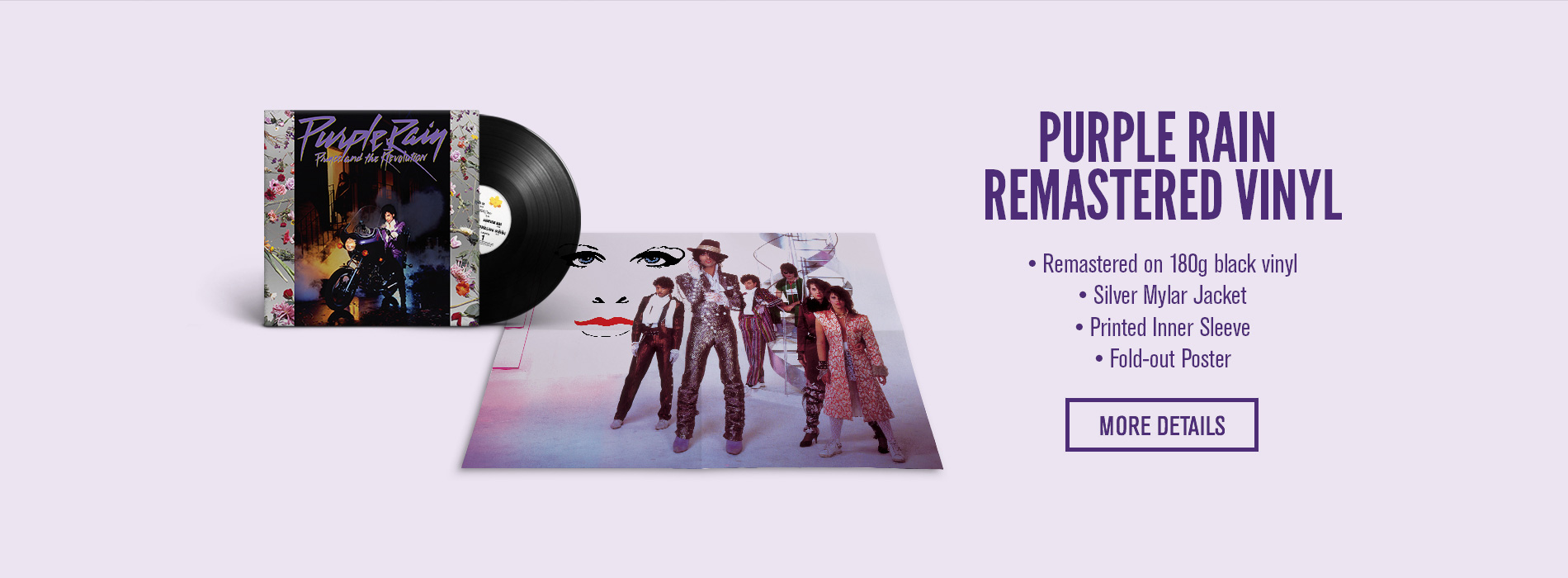 Purple Rain Remastered Vinyl